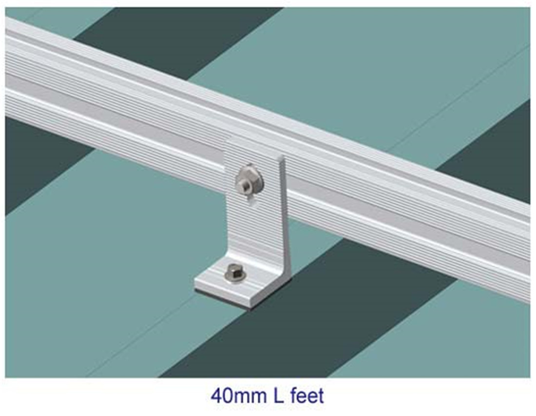 SLOPING ROOF--Metal TILE ROOF MOUNTING SYSTEM