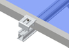Flat Roof -Aluminum Ballasted Roof Mounting System