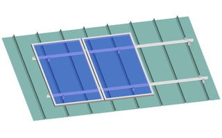 Sloping Roof--Standing Seam Roof Clip (N Series Roof Clip)